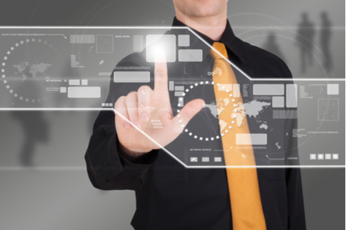 Man providing managed IT services from FX Technology